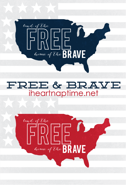Free 4th of July print.