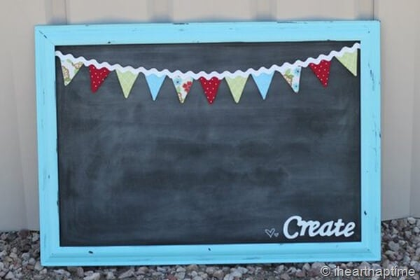 learn how to make this bunting tutorial