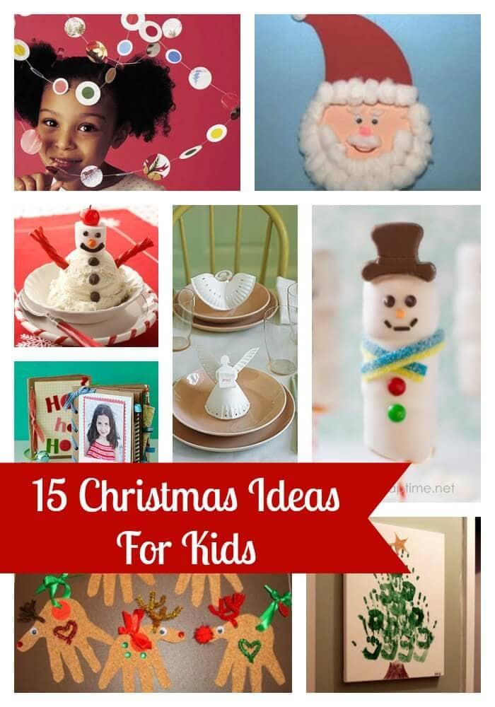 Kids Christmas Ideas Collage1