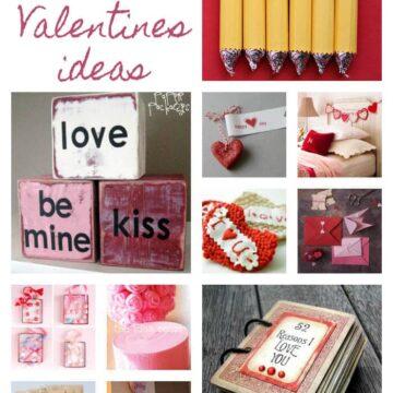 20 #Handmade #Valentines ideas