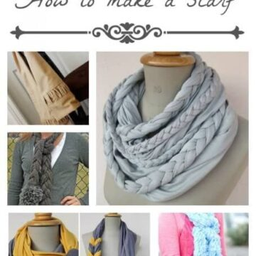 15 different tutorials showing you how to make a scarf on iheartnaptime.com ...so cute!