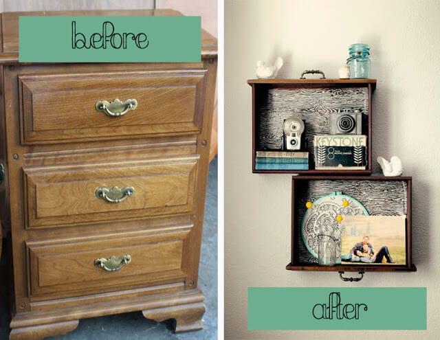 dresser before&after