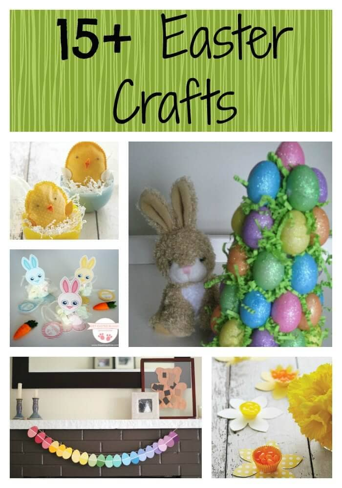 Easter Crafts on I Heart Nap Time