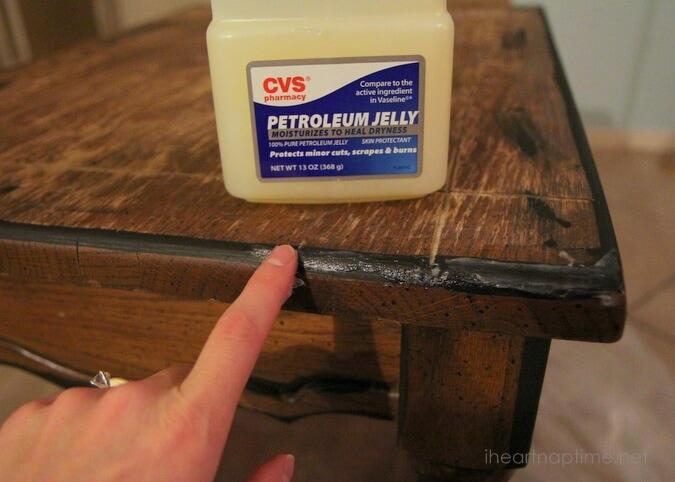 Vaseline painting technique