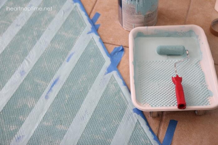 paint a rug