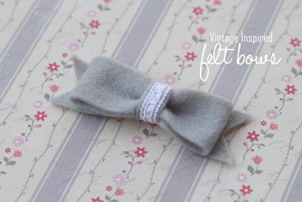 felt bow
