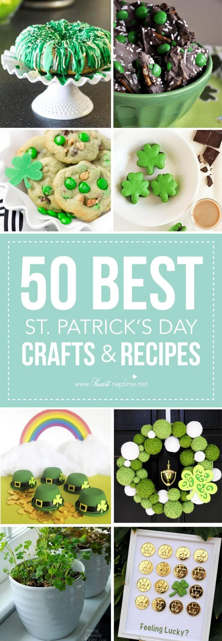 50 BEST St. Patrick's Day crafts and recipes
