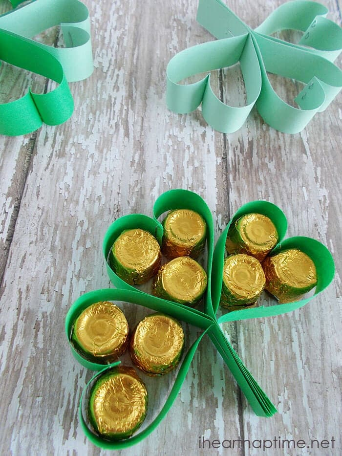 St. Patrick's Clover Treats