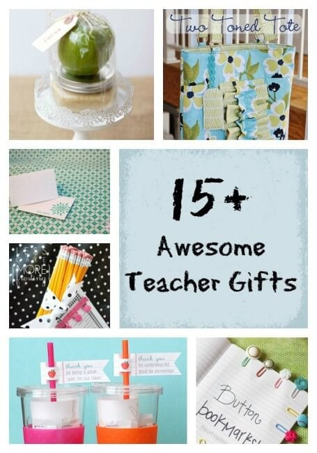 Awesome Teacher Gifts on I Heart Nap Time