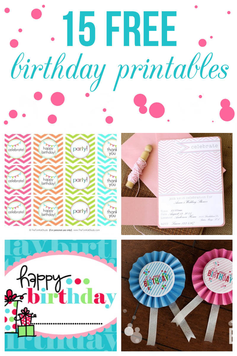 This is an image of Printable Cake Topper Templates throughout banner