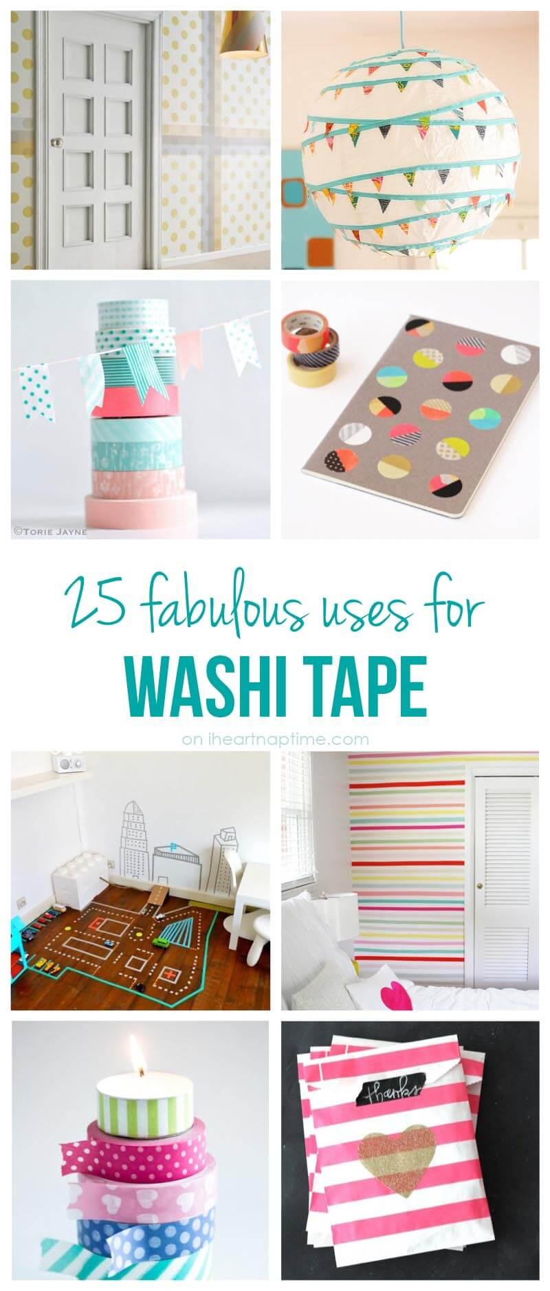 25 fabulous uses for washi tape
