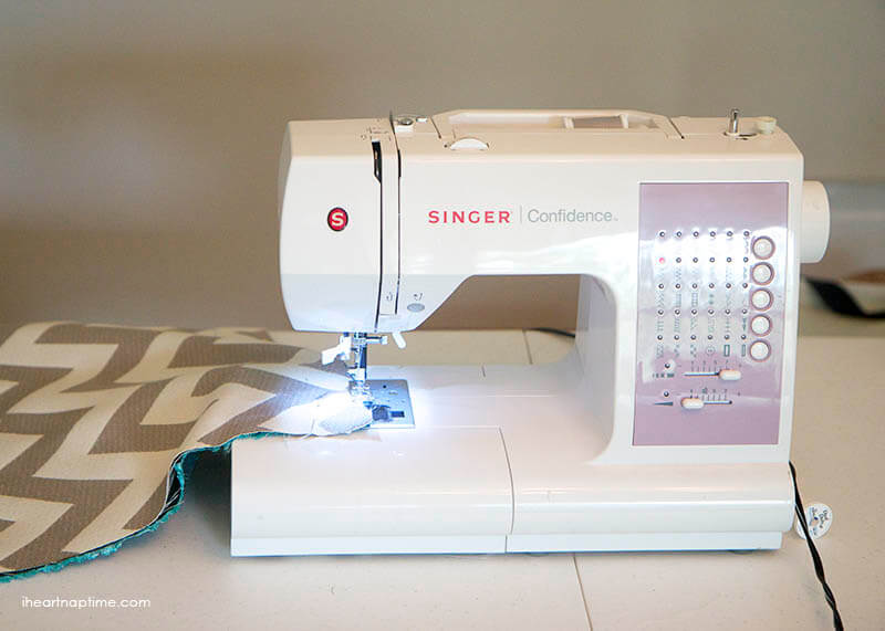 sewing fabric - DIY curtains