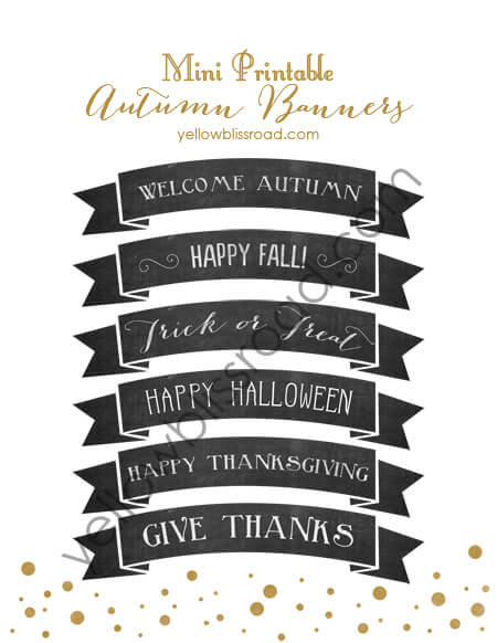 50 BEST Thanksgiving Printables 18