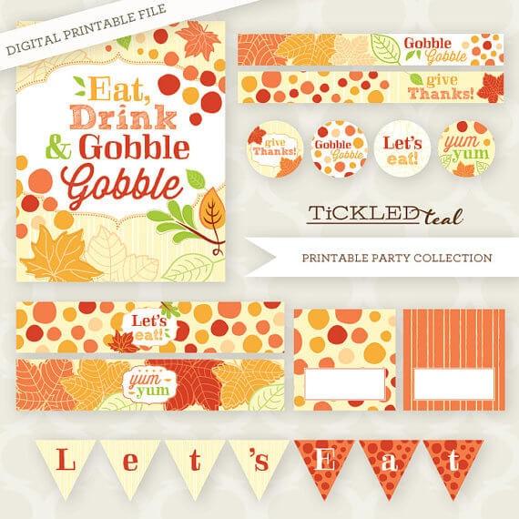 50 BEST Thanksgiving Printables 25