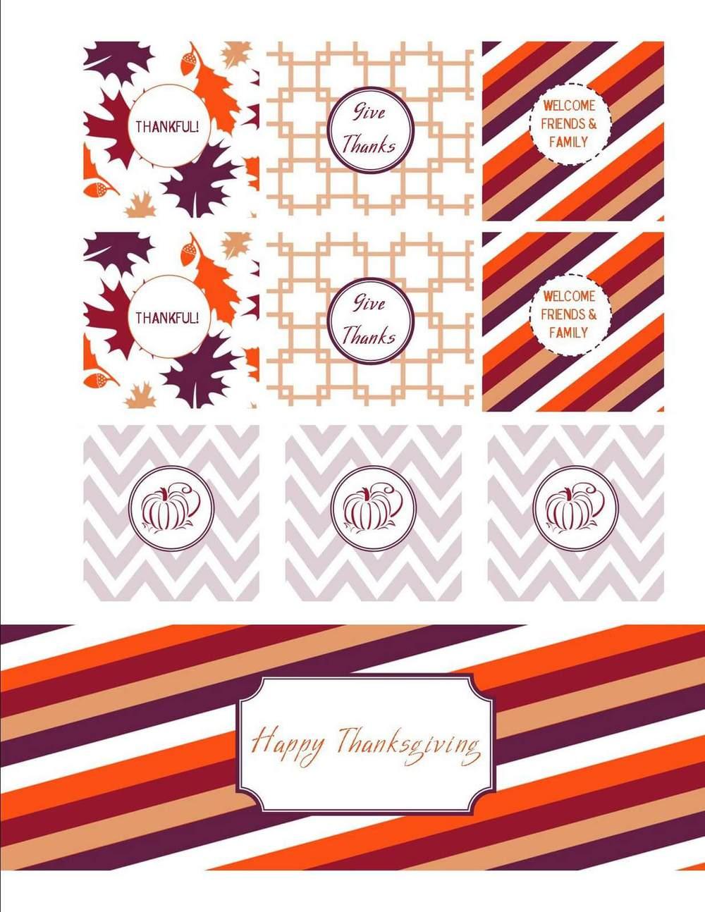 50 BEST Thanksgiving Printables 29