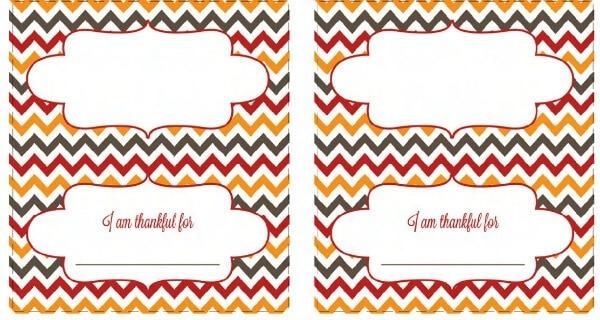 50 BEST Thanksgiving Printables 35
