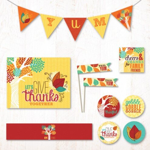 50 BEST Thanksgiving Printables 49