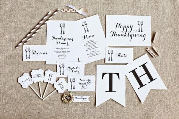 50 BEST Thanksgiving Printables 7