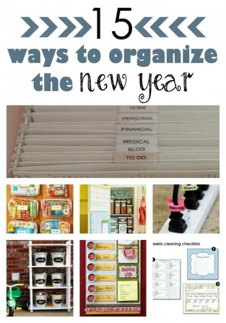 ideas for organizing