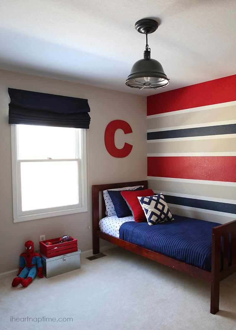 Superhero boy room