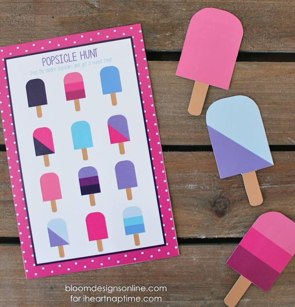popsicle hunt on iheartnaptime.com
