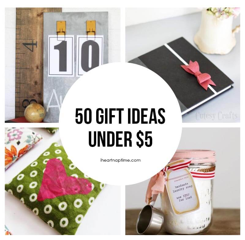 gift ideas to make for under $5