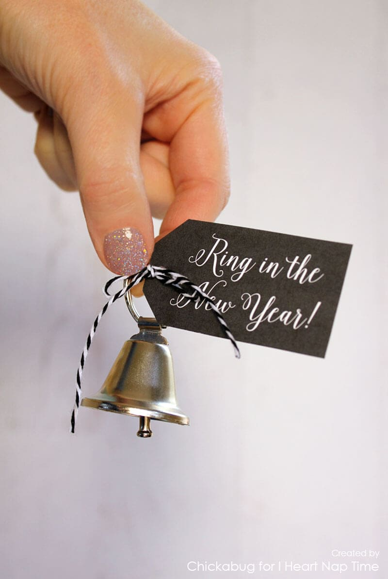 """Ring in the New Year"" printables on iheartnaptime.com"