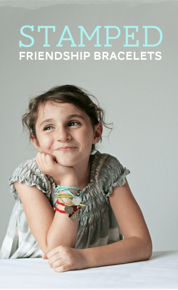 Stamped Friendship #Bracelets by Paging Supermom on iheartnaptime.net