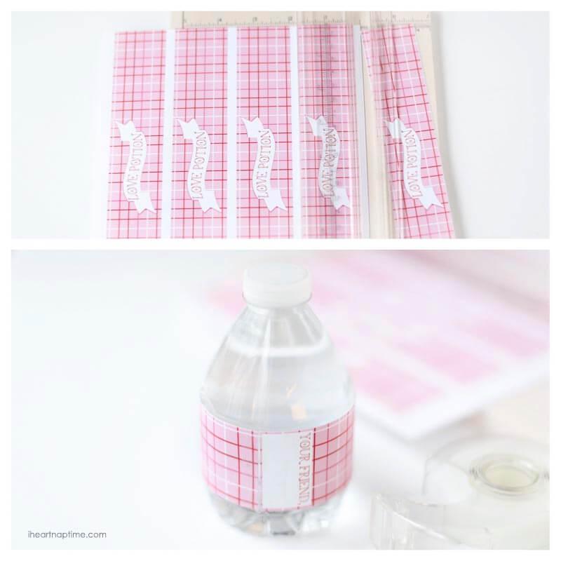 water bottle tutorial