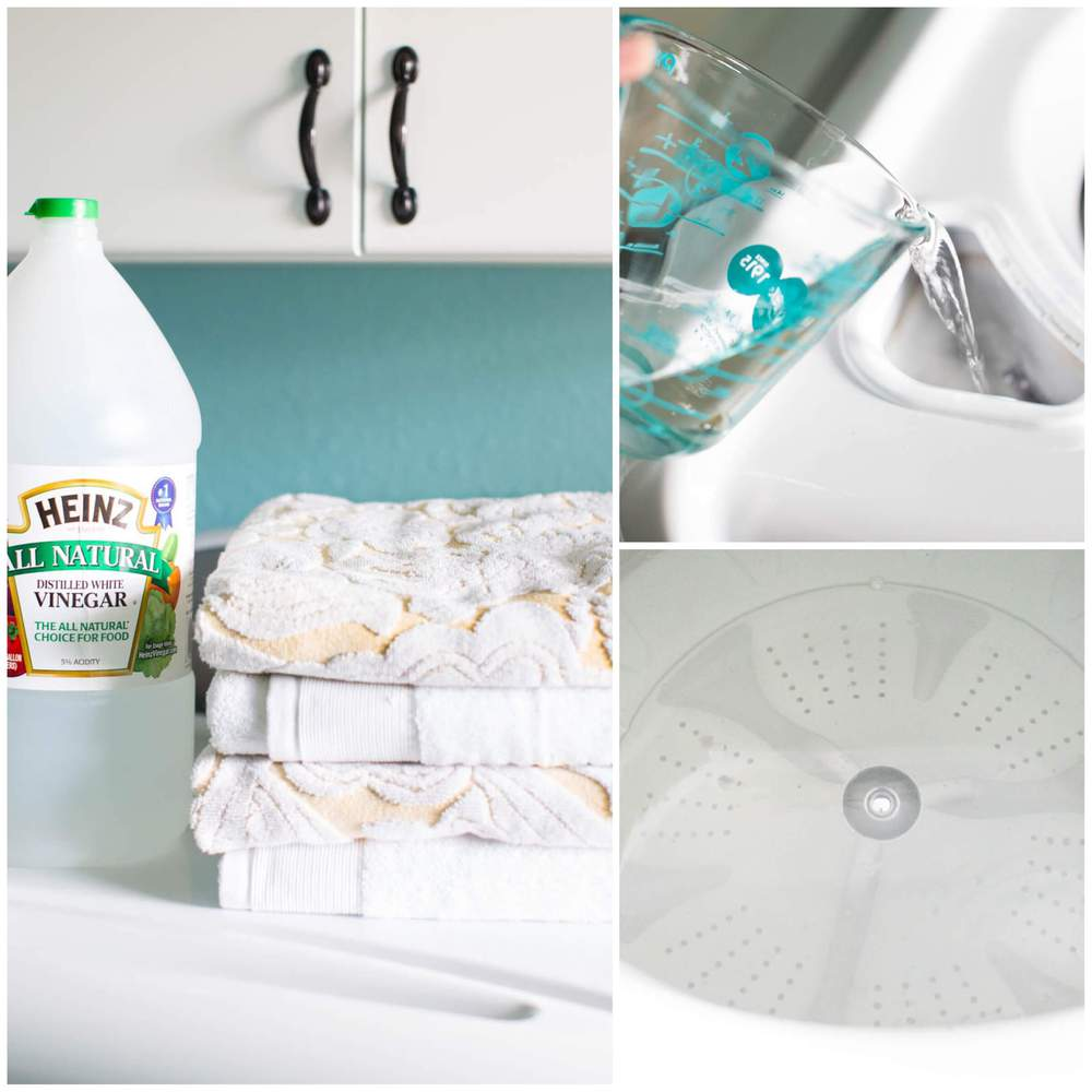 cleaning washer with vinegar