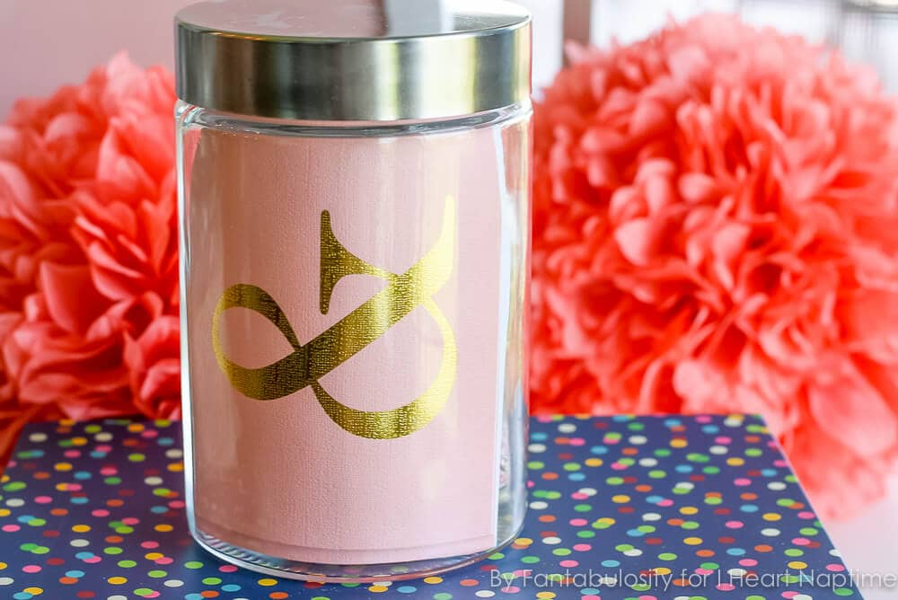 Favorite Things Gift in a Jar - Stationary