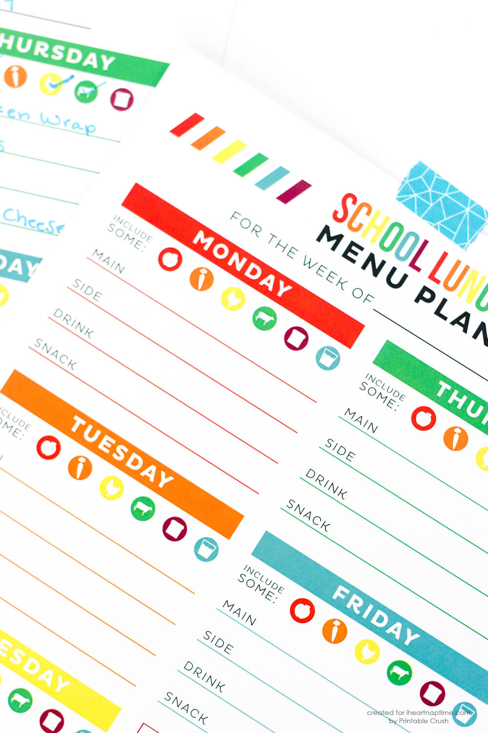 Print out these FREE School Organization Printables to help you stay organized this school year!