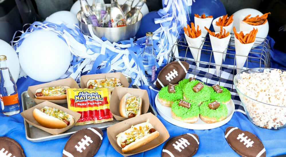 Football Tailgating Party... so delicious!