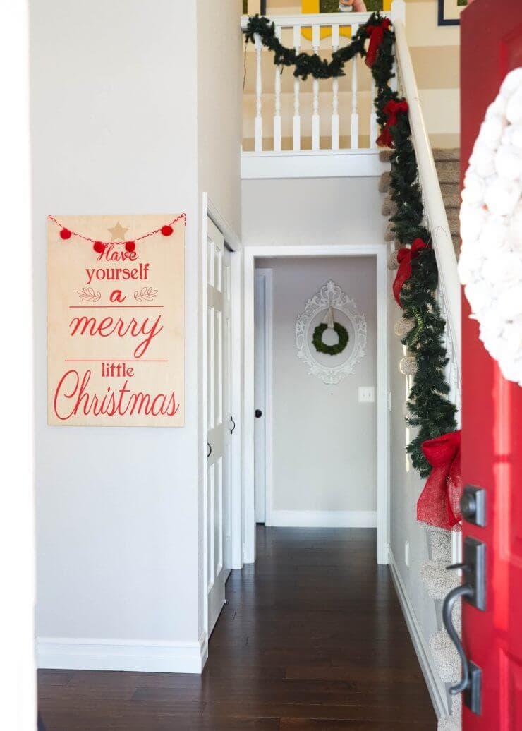 2016 Holiday home tour on iheartnaptime.net -Christmas entry
