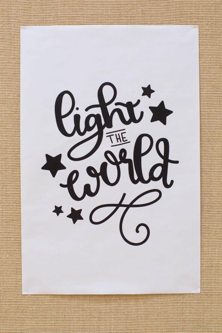 Light the World Designs... during this Christmas season, we participated in this wonderful initiative and it has been so valuable to focus on the true meaning of Christmas. Free printables for you to use, too! Light the World free printable design.