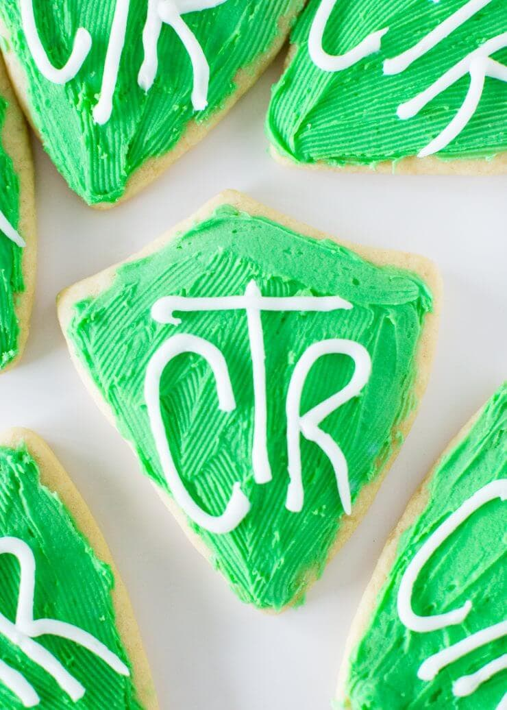 CTR cookies and great to be 8 free printables -cupcake toppers, treat bags, invitations and a banner!