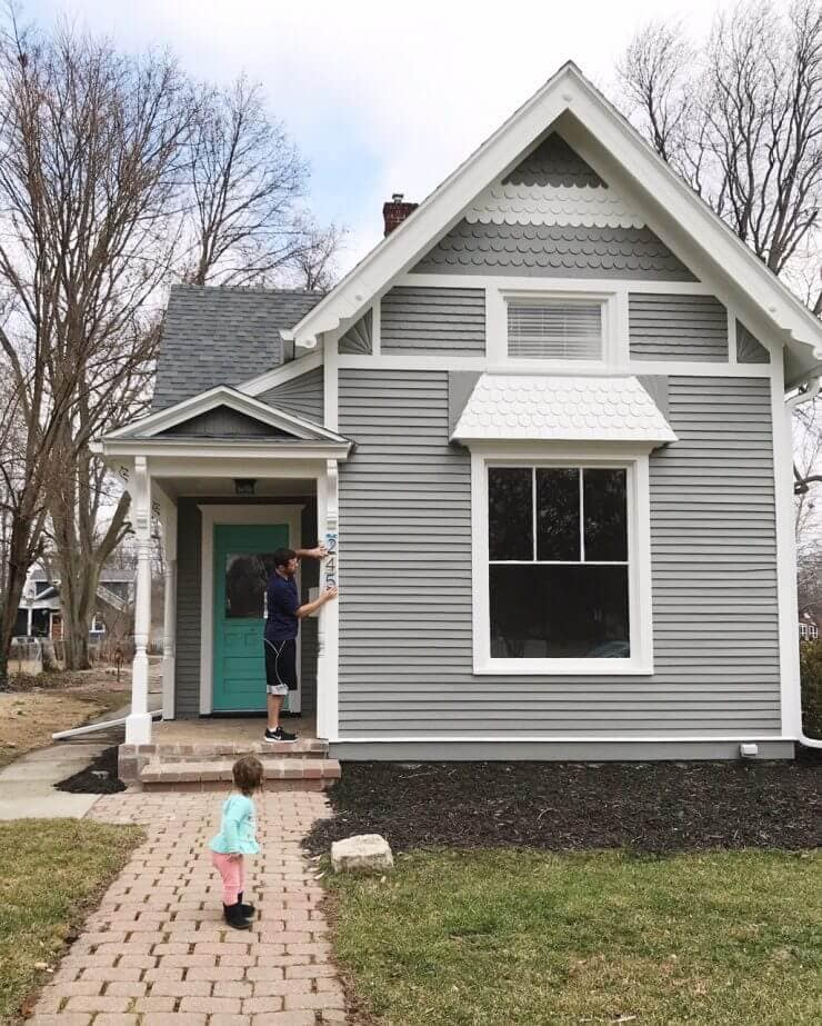 An update on our 1888 fixer upper + paint colors