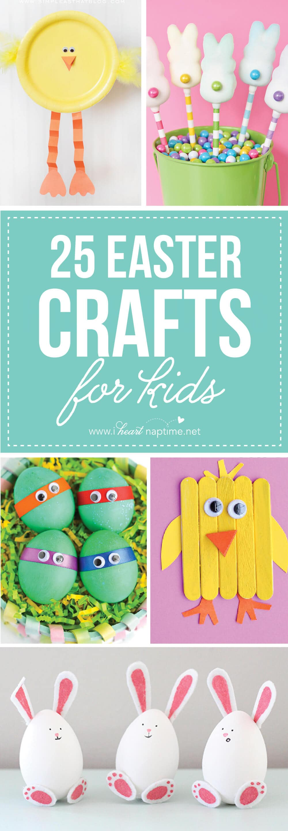 25 Easter Crafts for Kids – Fun-filled Easter activities for you and your child to do together!