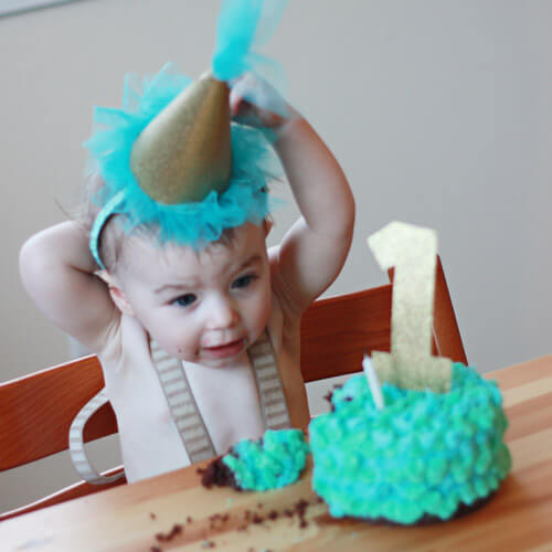 Birthday Baby Hat + DIY First Birthday Shirt and Party Hat - plus 15 other birthday outfit ideas to make your little one unbelievably adorable on the Big Day!