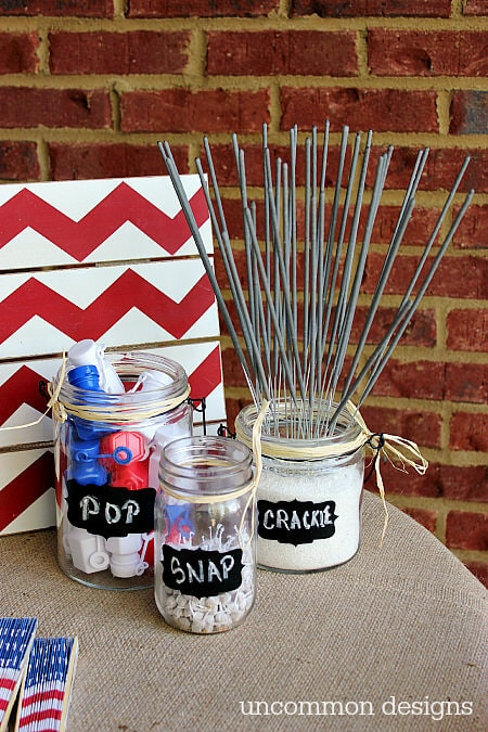 Fun and Games Station + 50 Festive Memorial Day BBQ Ideas...creative ways to kick-off summer and celebrate our freedom while remembering our fallen heroes!
