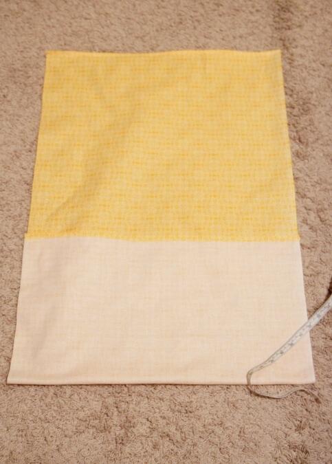 make a pillow cover