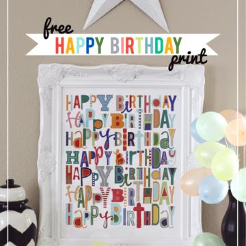 printable happy birthday