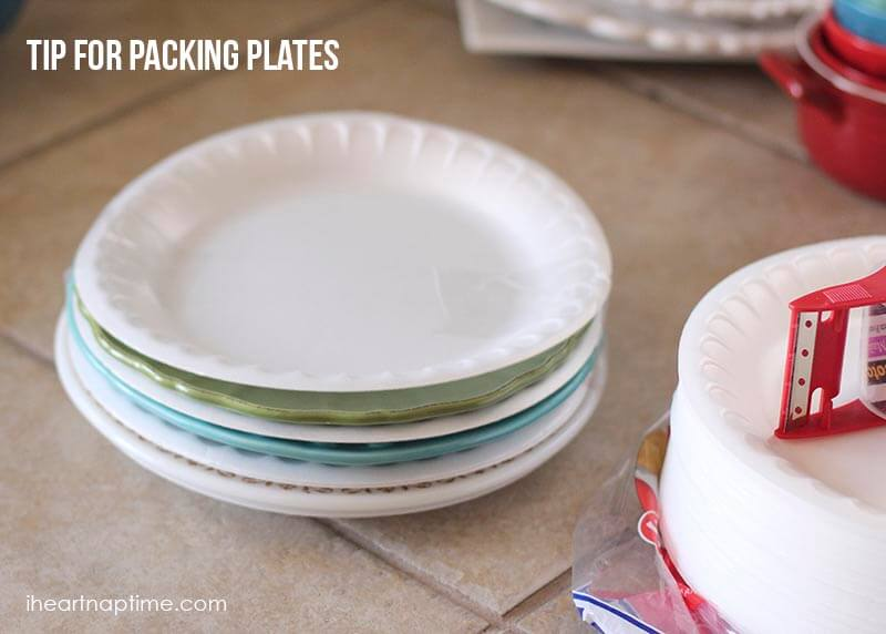 moving tips for packing plates