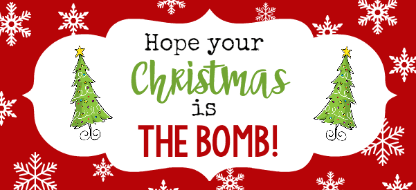 Christmas Bath Bombs are a cute and simple gift that your friends and family will love this holiday season!