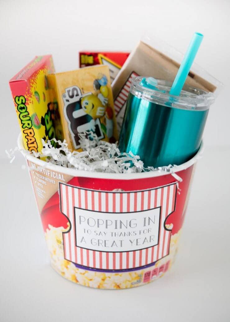 popcorn gift teacher appreciation