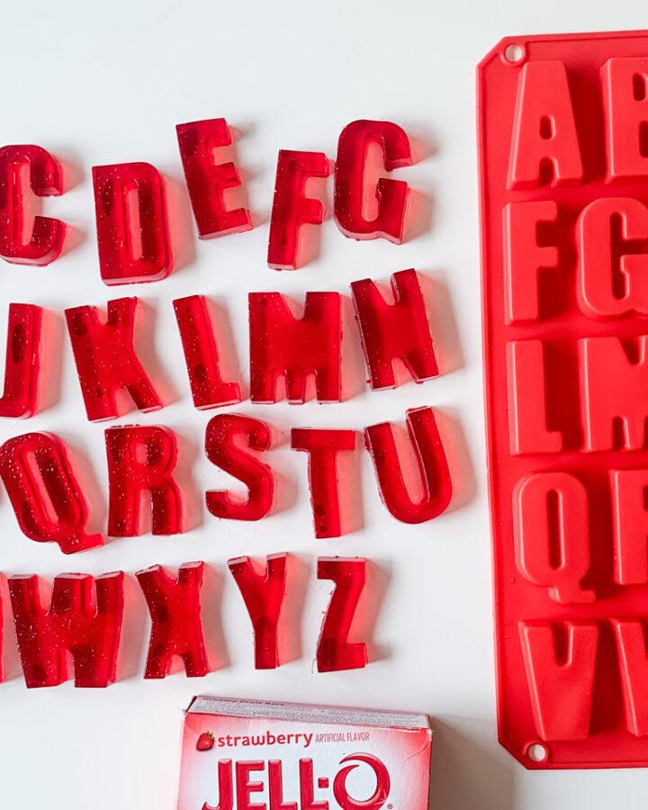 jello letters