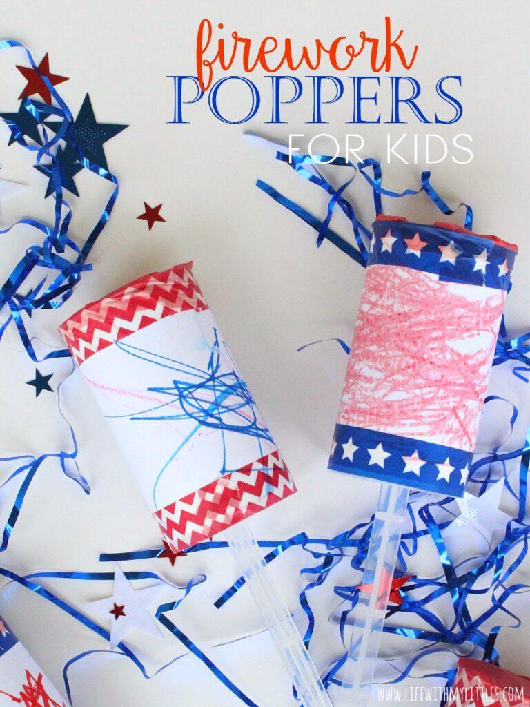 Firework poppers