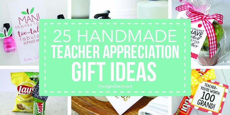 Teacher appreciation collage