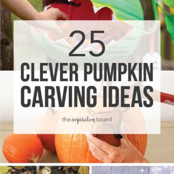 25 Clever Pumpkin Carving Ideas