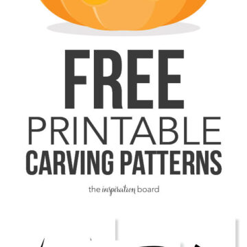 FREE Printable Pumpkin Carving Patterns